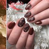 NABA Colour Gel 46 VELVET BROWN
