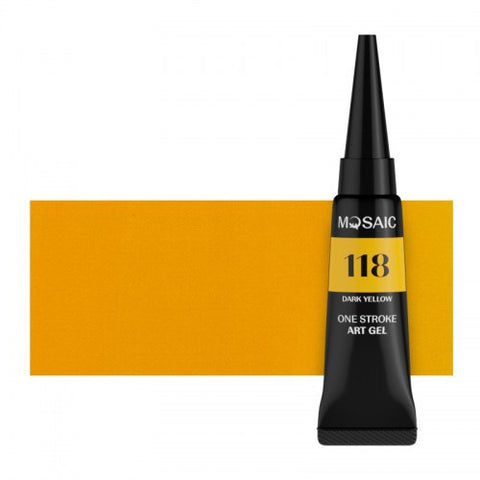 MOSAIC One Stroke Gel Paint 118 DARK YELLOW