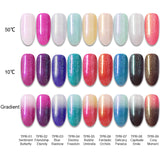 BORN PRETTY Temperature Changing Rainbow Gel Polish 07 Delicacy Paradox