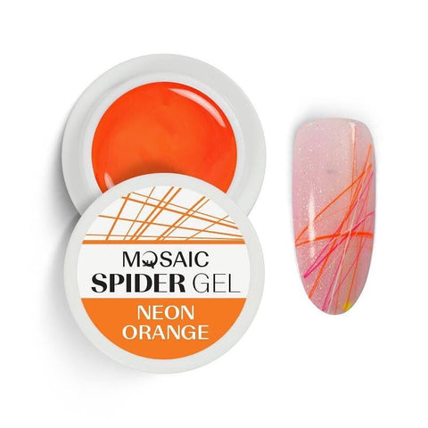 MOSAIC Spider Gel Neon Orange