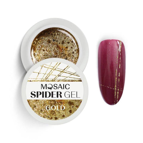 MOSAIC Spider Gel Gold