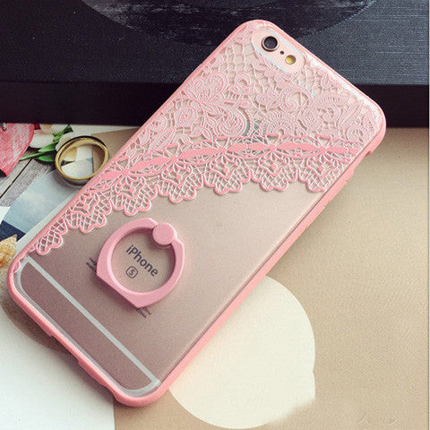 Lace Floral Pattern Case For iPhone 7 7plus 6 6s 6plus 6splus