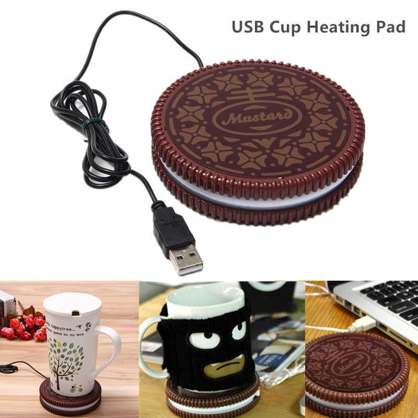 USB Cookie Design Cup Warmer