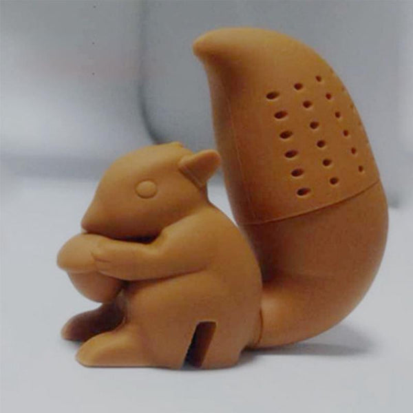 Cute Squirrel Tea Strainer