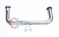 "Performance Racing 2.50"" Exhaust Cross Over Pipe Kit 93-00 Chevy/GM C/K 2500/3500 6.5L V8 Turbo Diesel Pickup Truck"