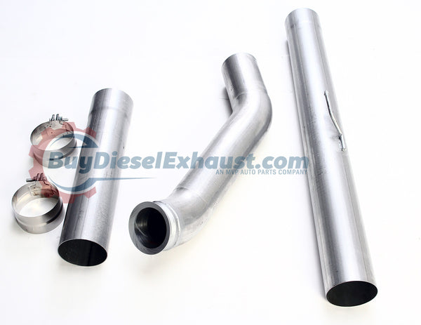 "Performance Racing 5"" CAT Catalytic Converter & DPF Exhaust Delete Test Pipe For 07-12 Dodge Ram 2500 3500 Cummins 6.7L Diesel Pickup Truck"