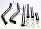 Performance Racing Downpipe Back DPF Delete Exhaust System For 13-17 Dodge Ram 2500 3500 Cummins 6.7L V8 Turbo Diesel Pickup Truck