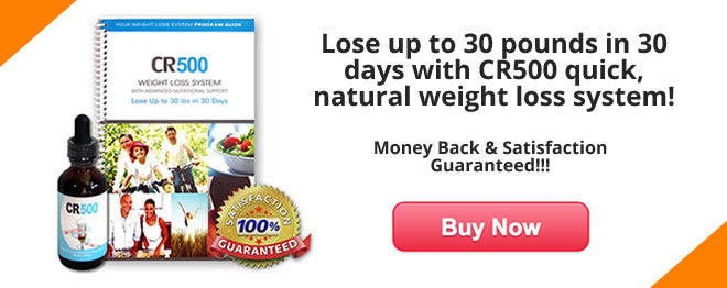 cr500 weight loss plan