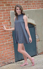 grey tank dress sleeveless gray