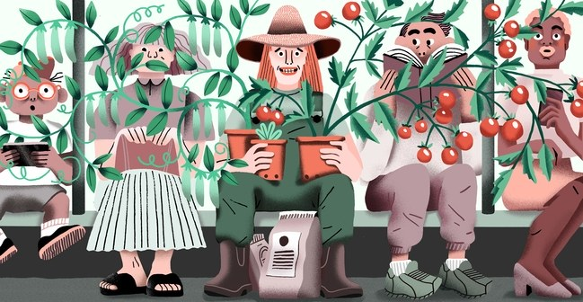 The Accidental Urban Gardener (The New Yorker)