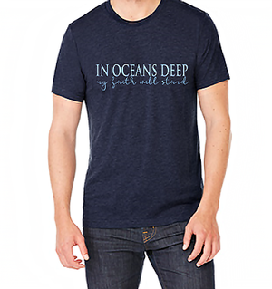 In Oceans Deep Unisex T-shirt