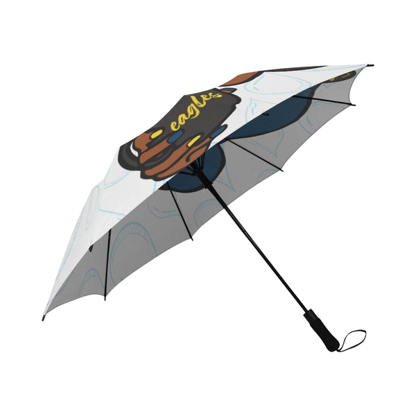 Coppin Umbrella Semi-Automatic Foldable