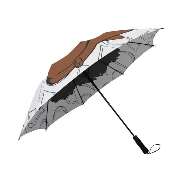 Jackson State Semi-Automatic Foldable Umbrella