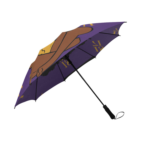 Alcorn State Umbrella Semi-Automatic