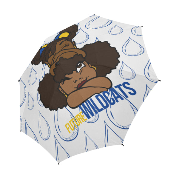 Wildcats Semi-Automatic Foldable Umbrella