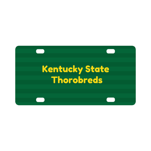 Kentucky State Thorobreds License Plate