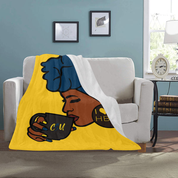 Coppin State Blanket Ultra-Soft Micro Fleece Blanket 30''x40''