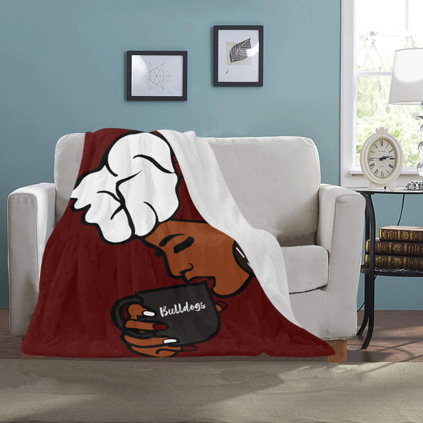 Alabama A&M Ultra-Soft Micro Fleece Blanket 30''x40''