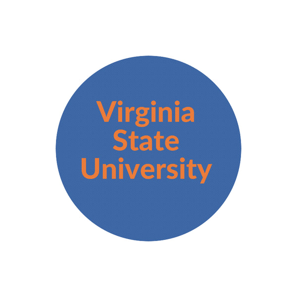 Virginia State Round Mouse Pad