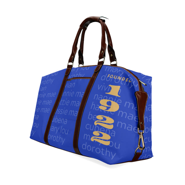 Finer Womanhood Founded 1922 Classic Travel Bag