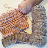 Knitting and crochet are also my loves. Cute messy bun beanies!