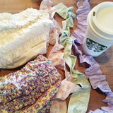 Ruffle Diaper Covers and my fuel of choice- Vanilla Latte