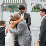 My daddy and I at my wedding