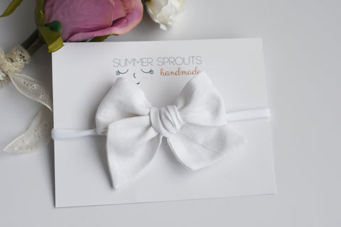 Classic Bows on Nylon Headband