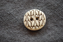 Knit Stitch Buttons- Pre Order - Custom made