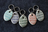 Stitch Markers - Oval Knit With Directions