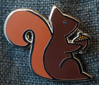 Squirrel Enamel Pin