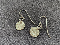 Precious Metal Clay Earrings - Danglies