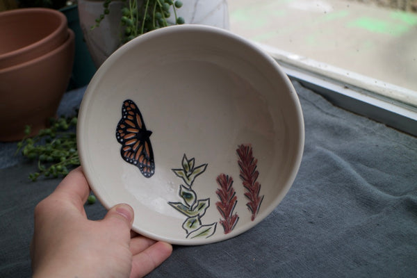 Monarch Cereal Bowl