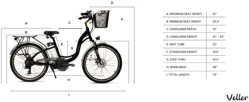 AmericanElectric-Veller-Electric-Bike-Dimensions
