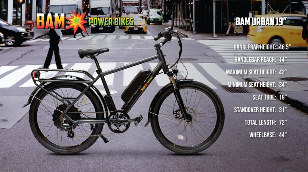 BAM-Power-Bikes-Urban-Electric-Bike-Dimensions-19inch