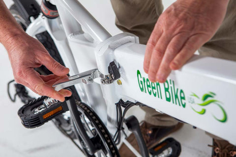 Green Bike USA GB Smart Unclip Folding Electric Bike