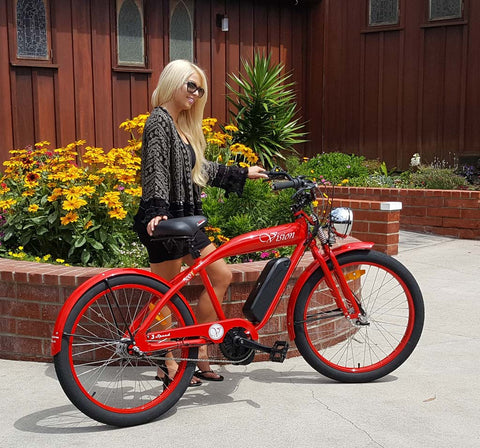 Phantom Bikes Vision Electric Bike Red