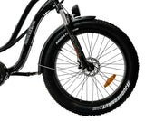 AmericanElectric STELLAR Electric Bike Step Through Black front wheel_c7135805 355d 4736 95dc 640303d9be5b