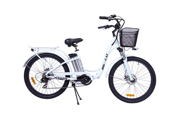Big Cat Long Beach Cruiser 500 White