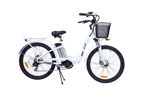 Big Cat Long Beach Cruiser 500 Electric Bike - Electric Bike Zone