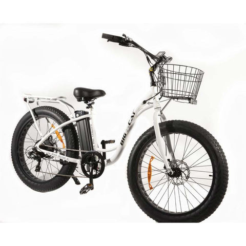 Big Cat Long Beach Cruiser XL 500 Fat Tire Electric Bike - Electric Bike Zone