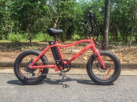 Big Cat Mini Cat XL 500 - Electric Bike Zone