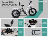 EMOJO Caddy PRO Trike Electric Fat Tire Tricycle 2020 Flyer