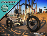 EMOJO Caddy PRO Trike Electric Fat Tire Tricycle Best Seller
