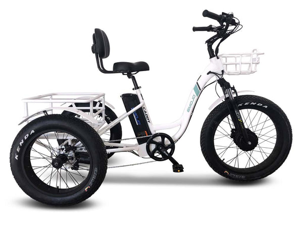 EMOJO Caddy PRO Trike Electric Fat Tire Tricycle