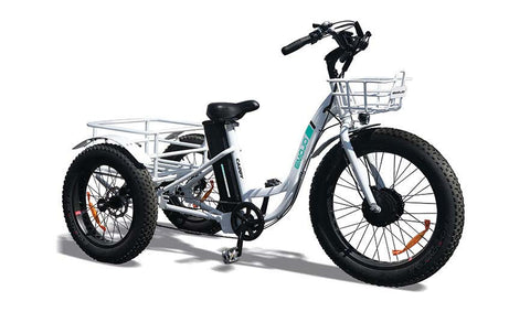 EMOJO Caddy Trike - Electric Fat Tire Tricycle - Electric Bike Zone