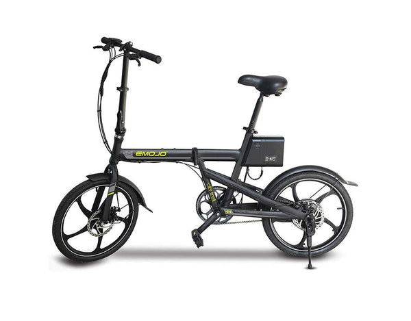 EMOJO City Trek 300W Folding Electric Bike Black