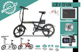 EMOJO City Trek 300W Folding Electric Bike Flyer