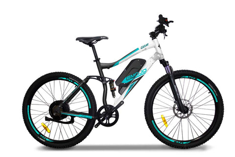 EMOJO Cougar - Electric Mountain Bike - Electric Bike Zone