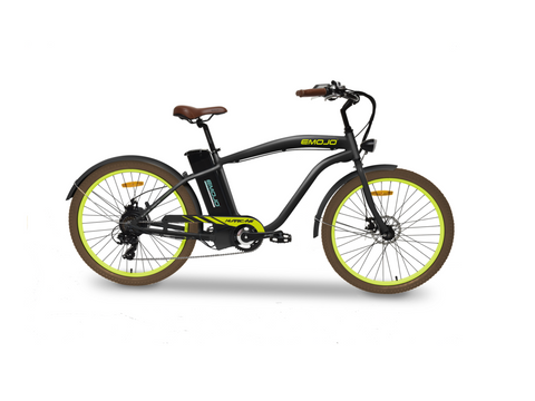 "EMOJO Hurricane 36V 500W 26"" Cruiser Electric Bike - Electric Bike Zone"